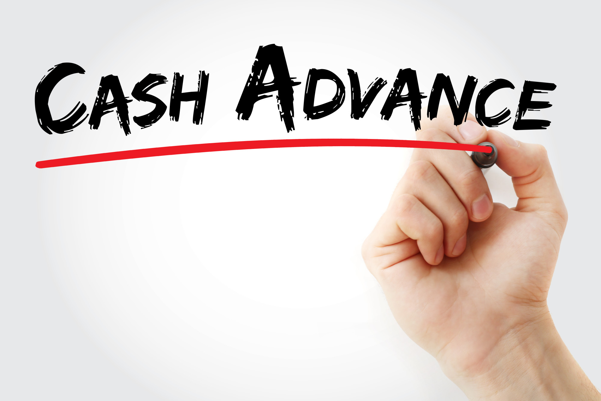 cash advance text